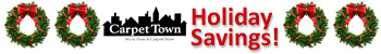 Holiday savings at Carpet Town in West Allis